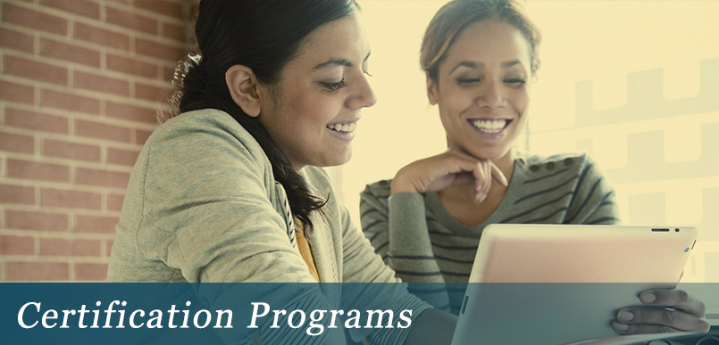 Certificate Programs for Psychometric Instruments