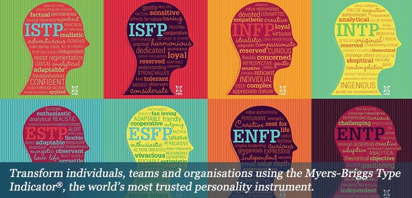 Myer Briggs Type Indicator to transform individuals and teams