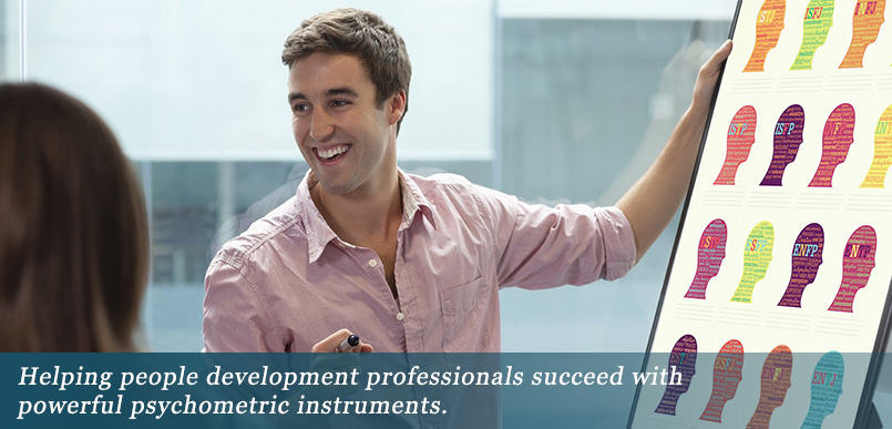 Professional people development through psychometric assessments