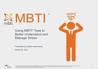 Stress Management: MBTI® Facilitation Pack