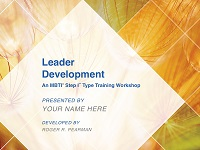Leader Development Workshop Facilitation Kit