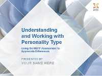 Understanding and Working with Personality Type Workshop Facilitation Kit