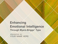 Enhancing Emotional Intelligence Through Myers-Briggs Type Facilitation Kit