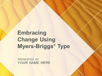 Embracing Change Using Myers-Briggs Type Facilitation Kit