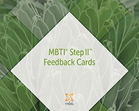 MBTI Step II Feedback Cards