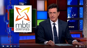 Stephen Colbert on MBTI